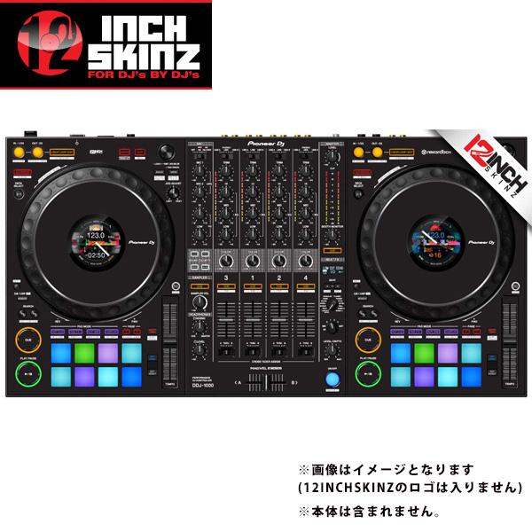 12inch SKINZ / Pioneer DDJ-1000SRT SKINZ (Black) 【DDJ-1000SRT用スキン】