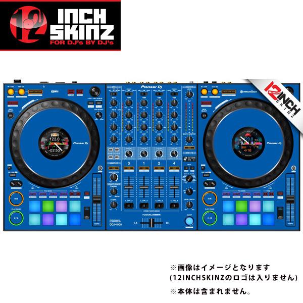 12inch SKINZ / Pioneer DDJ-1000SRT SKINZ (Blue) 【DDJ-1000SRT用スキン】