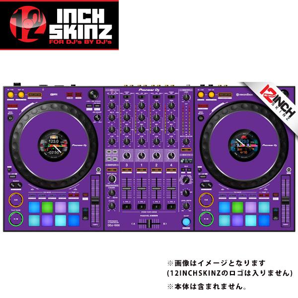 12inch SKINZ / Pioneer DDJ-1000SRT SKINZ (Purple) 【DDJ-1000SRT用スキン】