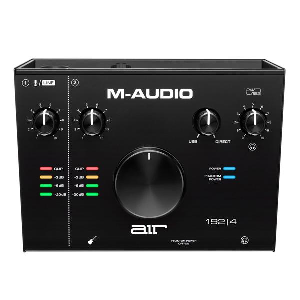 M-Audio(エム・オーディオ) / AIR 192 | 4 -2in/2out USBオーディオ・インターフェース -