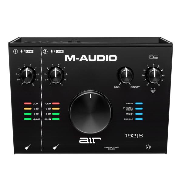 M-Audio(エム・オーディオ) / AIR 192 | 6 -2in/2out USBオーディオ/MIDIインターフェース - 【次回6月下旬以降】