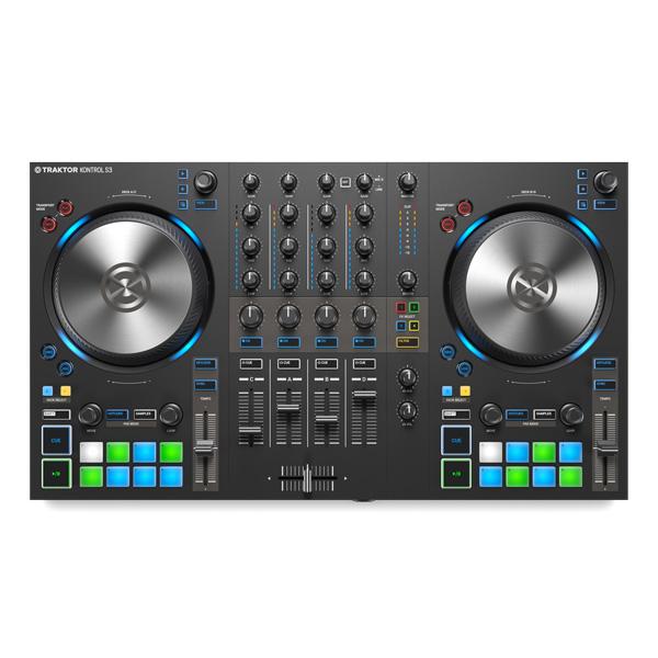 TRAKTOR KONTROL S3 / Native Instruments(ネイティブインストゥルメンツ) 【TRAKTOR PRO 3 付属】- PCDJコントローラー -
