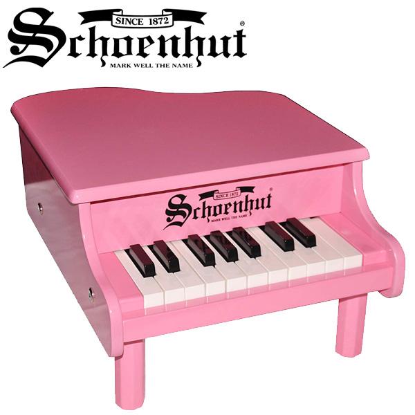 Schoenhut / Mini Baby Grand Piano (Pink) 18鍵盤 トイピアノ 【シェーンハット】【国内正規品】
