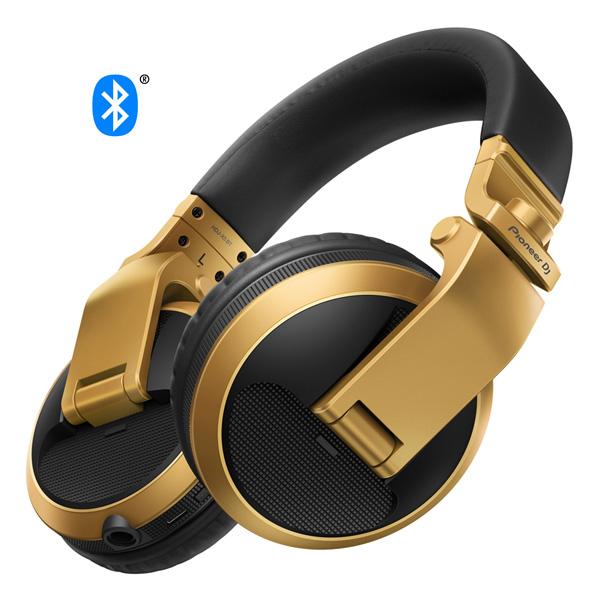 Pioneer / HDJ-X5BT-N (ゴールド) BLUETOOTH対応 DJ用ワイヤレスヘッドホン 【パイオニア】【国内正規品】