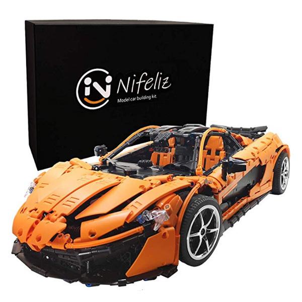 Nifeliz Sports Car P1 / MOCスポーツカー /スケール1:8 3307ピース / レーシングカー ブロック おもちゃ 【直輸入品】