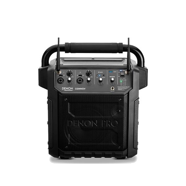Denon Professional / CONVOY / ワイヤレスマイク2本付き - ポータブルPAシステム - 【 Bluetooth対応 充電池内蔵 】【デノンプロフェッショナル】