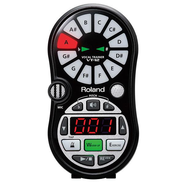 Roland(ローランド) / VT-12-BK Vocal Trainer (ブラック) 【ボーカル練習ツール】