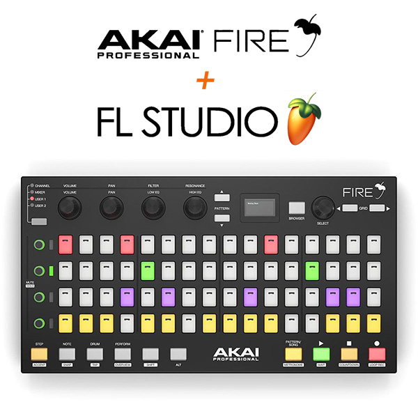 Akai / FIRE 【FL Studio / Fruity Fire Edition付属】 FL Studio専用コントローラー 【アカイ】