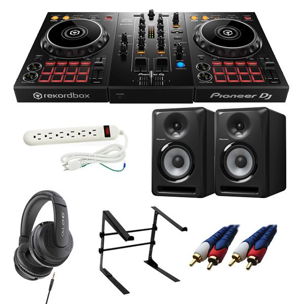 14大特典付 Pioneer(パイオニア) / DDJ-400 / S-DJ80X 激安初心者Cセット【rekordbox dj 無償】