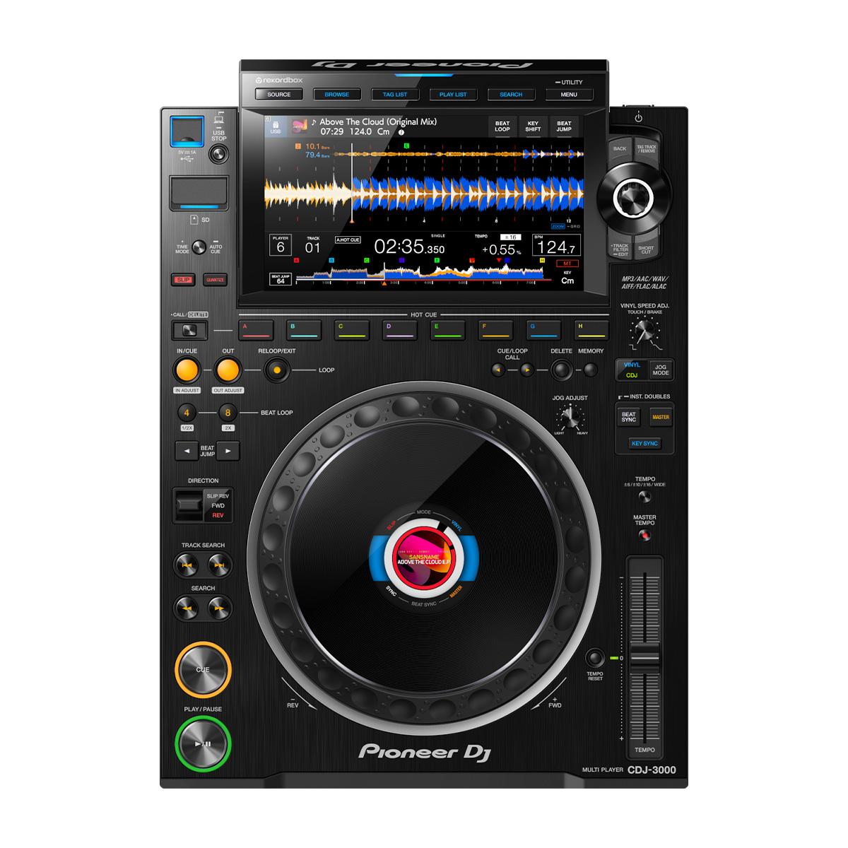 お見舞い NEW ARRIVAL 2020年代を代表するCDJ Pioneer DJ CDJ-3000 パイオニア プロフェッショナル ハイレゾ対応 DJマルチプレイヤー