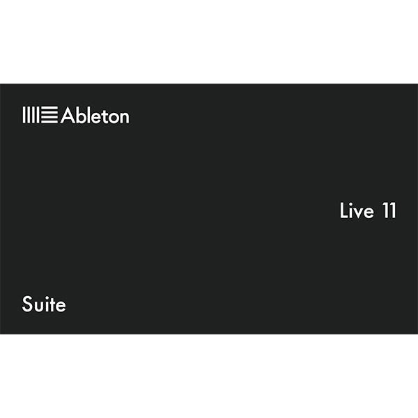 【アップグレード版】 ableton(エイブルトン) / Live 11 Suite UPG from Live Lite  (ダウンロード版用シリアルコード記載用紙のみ)