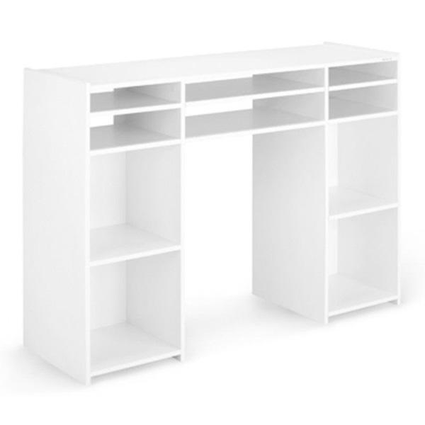 Zomo(ゾモ) / Deck Stand Vegas (White) - 収納棚付き DJテーブル - 《組立式》