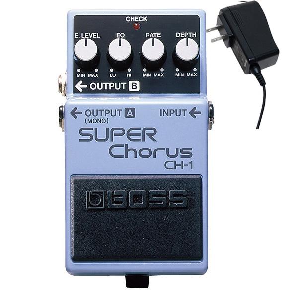 1大特典付 Boss(ボス) / SUPER Chorus CH-1 - コーラス 《ギターエフェクター》