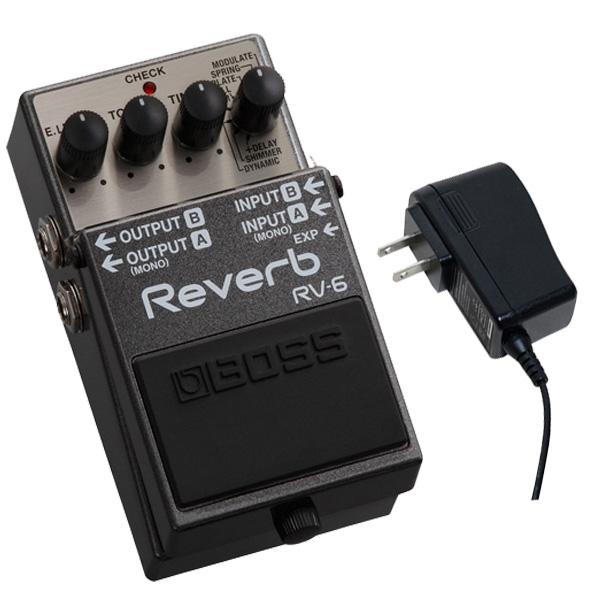 1大特典付 Boss(ボス) / RV-6 - デジタル・リバーブ - 《ギターエフェクター》 【5月下旬予定】