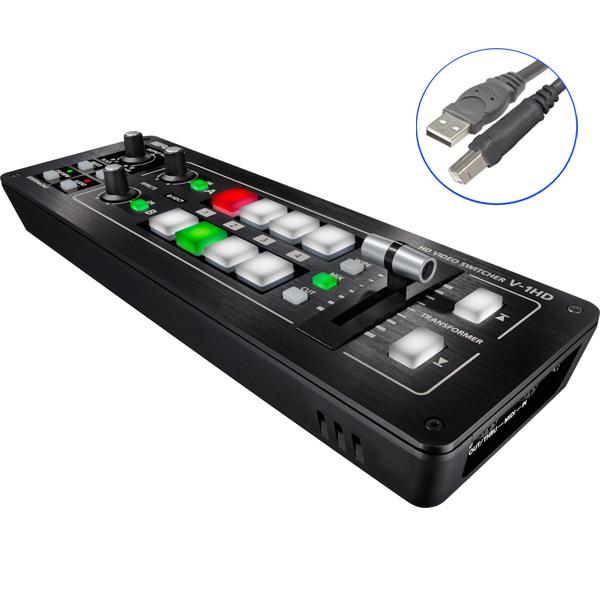 1大特典付 1大特典付/ Roland(ローランド)/ V-1HD V-1HD ポータブルHDビデオミキサー, 【通販 人気】:b46fcd18 --- officewill.xsrv.jp
