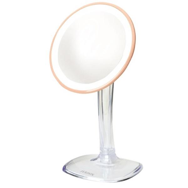 日本最大のブランド Jerdon(ジェルドン) 直径約18cm]// JS725RL(ローズゴールド) 《拡大鏡》 [鏡面 直径約18cm]【5倍率】【5倍率】 -卓上型テーブルミラー-, 真珠のジェルム:7b7fe1de --- dpedrov.com.pt