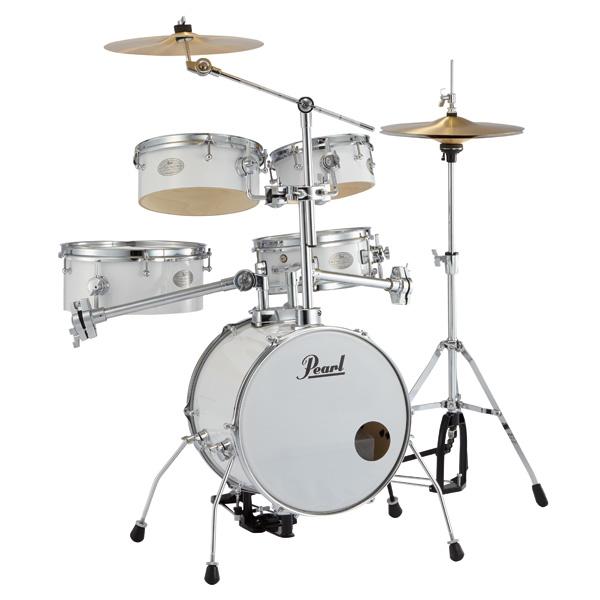 Pearl(パール) / Rhythm Traveler Version 3S RT-645N/C _Pure White(ピュアホワイト) リズムトラベラー- コンパクト ドラムセット -