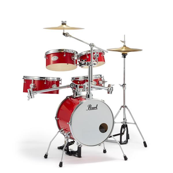 Pearl(パール) / Rhythm Traveler Version 3S RT-645N/C #94 Candy Apple (キャンディ・アップル) リズムトラベラー-コンパクト ドラムセット -