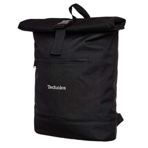 Technics(テクニクス) / Roll Top Backpack (レコード/laptop など収納可能) - バッグ -