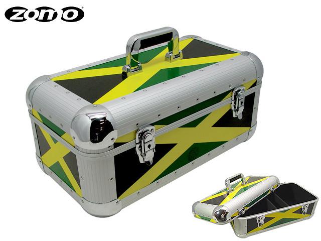 Zomo / Record Case RS-250 (Jamaica) 約250枚収納可能 ゾモ 7インチ用レコードケース