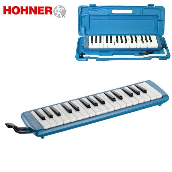 【緊急告知 12/19~26限定エントリ―P7倍】Hohner(ホーナー) / MELODICA STUDENT32 BLUE - 32鍵 鍵盤ハーモニカ -