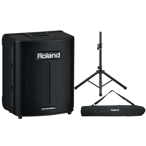 1大特典付 【専用スタンドセット】Roland(ローランド) / BA-330 - 乾電池対応オール・イン・ワンPAシステム -