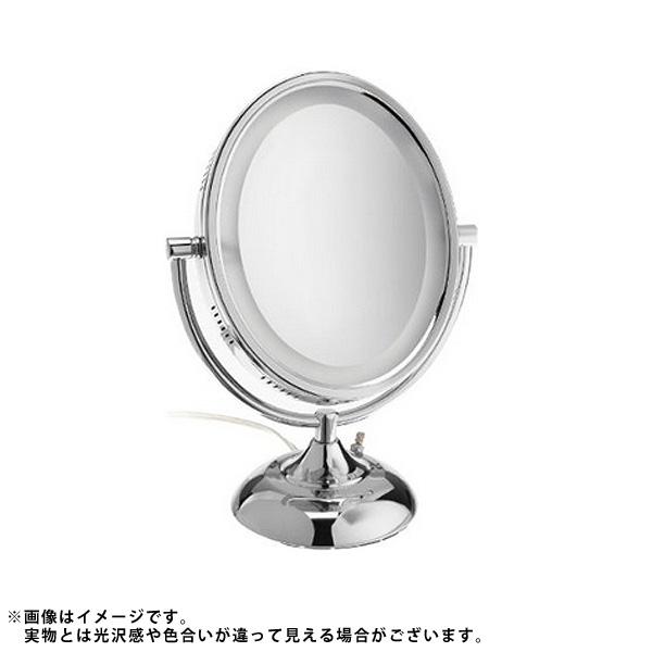 最適な材料 1大特典付 x Jerdon(ジェルドン) HL958C 20cm (クローム) ライト付拡大鏡 [鏡面 HL958C 20cm x 25cm]【8倍率/等倍率】 卓上型テーブルミラー, crevITa:e7c9751a --- dpedrov.com.pt
