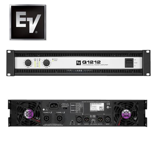 1大特典付 Electro-Voice(エレクトロボイス) / Qシリーズ II Q1212 -パワーアンプ- [国内正規品]