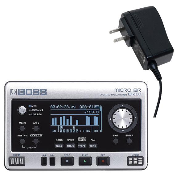 大特典付 【ACアダプター付きセット】 Boss(ボス) / MICRO BR BR-80 - MTRレコーダー -