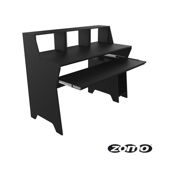 Zomo / Studio Desk Milano (BLACK) ゾモ スタジオワークステーション / DTMデスク / テーブル 《組立式》
