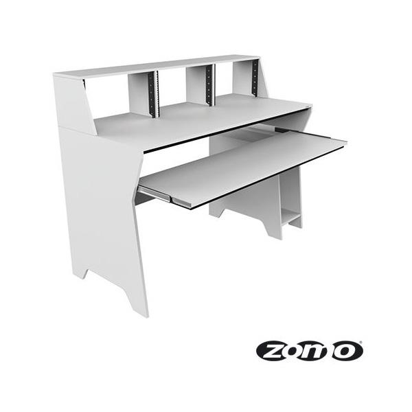 Zomo(ゾモ) / Studio Desk Milano (WHITE) - スタジオワークステーション / DTMデスク / テーブル - 《組立式》