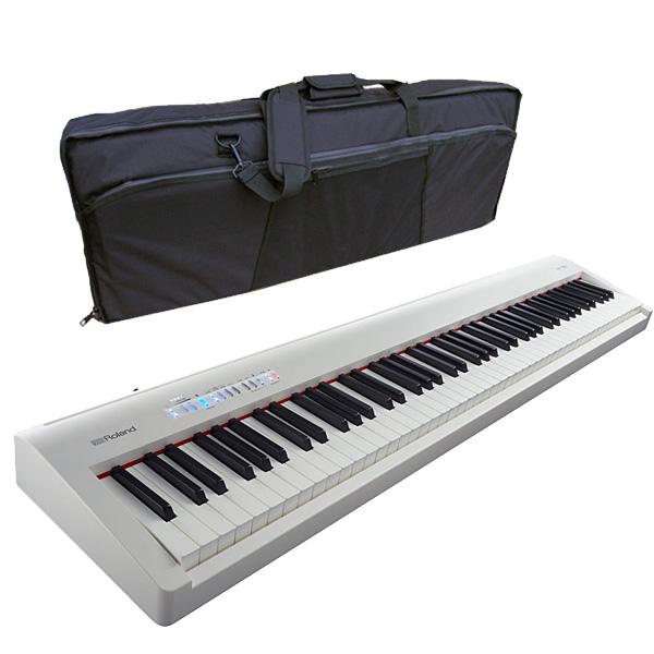 1大特典付 Roland(ローランド) / FP-30-WH - Bluetooth対応 ポータブル・電子ピアノ - 【88鍵盤】