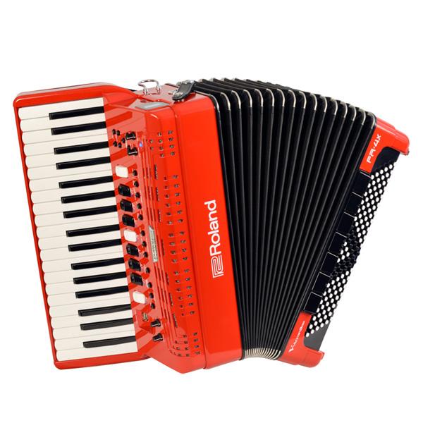 1大特典付 Roland(ローランド) / FR-4X (RED) Vアコーディオン(ピアノ鍵盤タイプ) - デジタルアコーディオン -