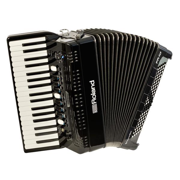 1大特典付 Roland(ローランド) / FR-4X (BLACK) Vアコーディオン(ピアノ鍵盤タイプ) - デジタルアコーディオン -