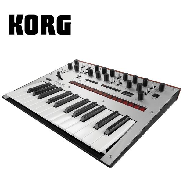 Korg(コルグ) monologue-SV (Silver シルバー) モノフォニック・アナログ・シンセサイザー
