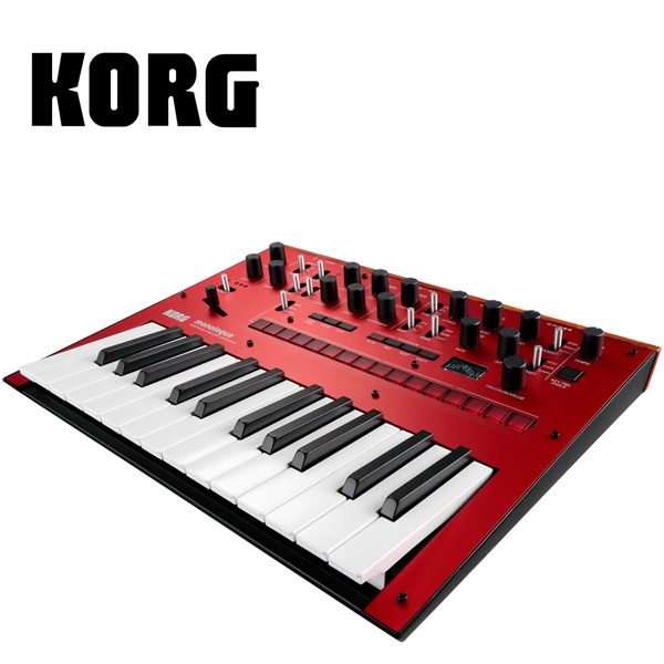 Korg(コルグ) / monologue-RD (Red レッド)- モノフォニック・アナログ・シンセサイザー -