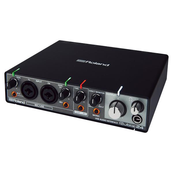 Roland(ローランド) / Rubix24 - 24bit/192kHz対応 USBオーディオ・インターフェース -【次回12月上旬予定】