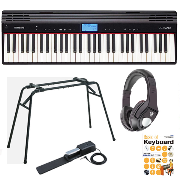 1大特典付 【オススメセット】Roland(ローランド) / GO:PIANO - エントリーキーボード -
