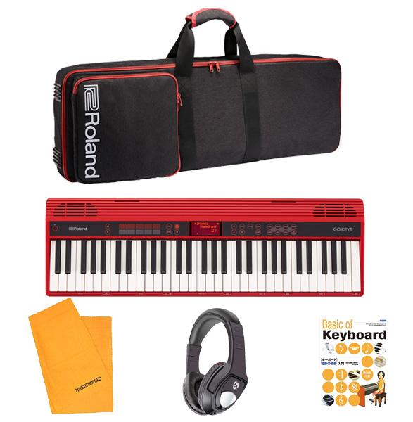 3大特典付 【スタートセット】Roland(ローランド) / GO:KEYS (GO-61K) - エントリーキーボード-