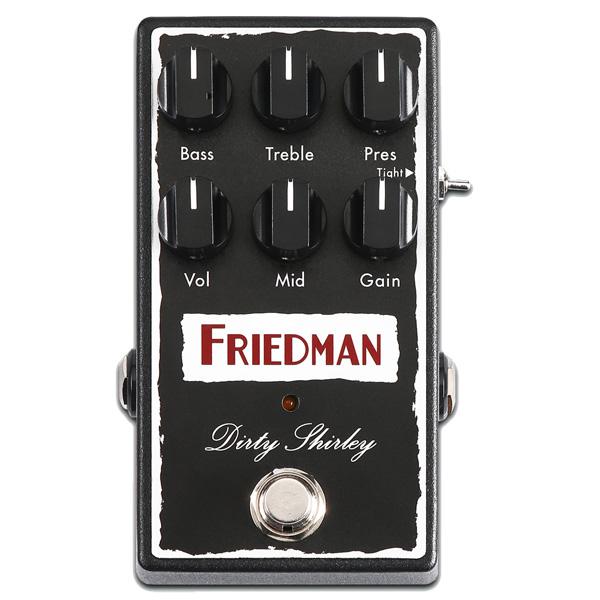 Friedman(フリードマン) / DIRTY SHIRLEY - オーバードライブ - 《ギターエフェクター》