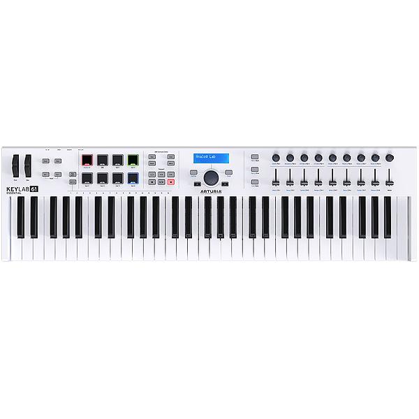 新作人気 Arturia(アートリア) / KeyLab Essential 61 -61鍵MIDIキーボード-【Analog Lab・Ableton Live Lite付属】, PREGO PREGO 5fdf3a48
