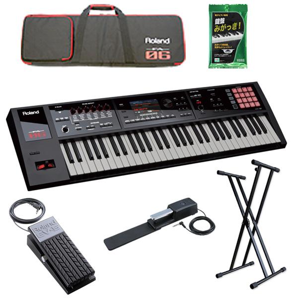 3大特典付 【2種のペダルセット】Roland(ローランド) / FA-06 - 61鍵盤ワークステーション・シンセサイザー -