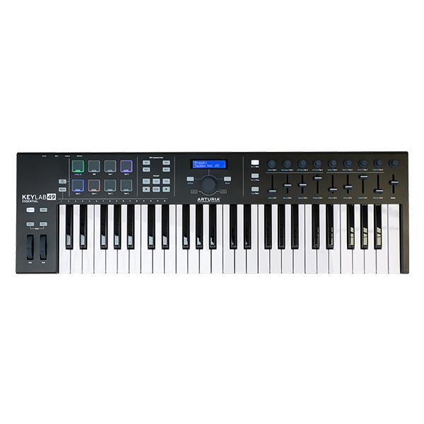 【最新入荷】 【限定色】Arturia(アートリア) / KeyLab Essential 49 Black Edition - 49鍵MIDIキーボード - 【 Analog Lab・Ableton Live Lite付属 】, アリパパストア f7d0c8db