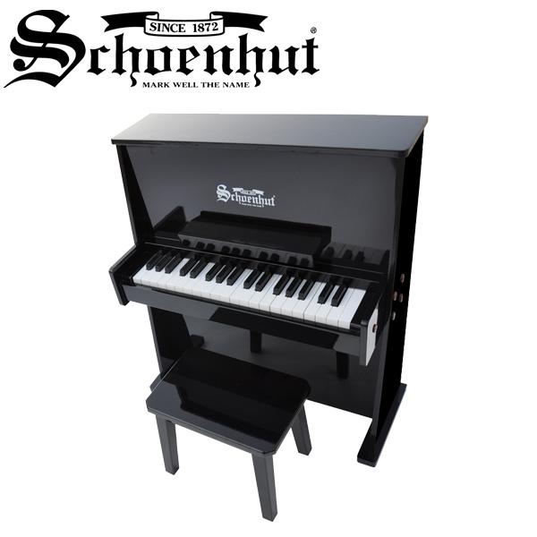 Schoenhut(シェーンハット) / Day Care Durable Piano (Black) - ベンチ付き 37鍵トイピアノ -