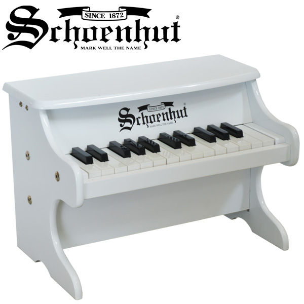 Schoenhut(シェーンハット) / My First Piano II (WHITE) - 25鍵トイピアノ -