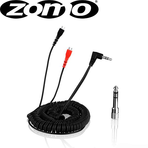 【緊急告知 12/19~26限定エントリ―P7倍】【メール便/送料無料】 Zomo(ゾモ) / Spring Cable for Sennheiser HD 25 3.5m (Black) - 交換用カールコード・ケーブル -