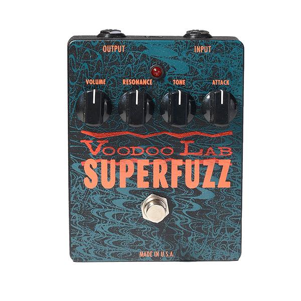 VOODOO LAB / SUPER FUZZ ファズ ギターエフェクター 直輸入品 ブードゥーラボ
