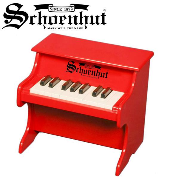 Schoenhut(シェーンハット) / My First Piano (Red) - 18鍵トイピアノ -