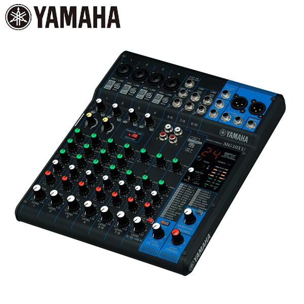1大特典付 YAMAHA(ヤマハ) / MG10XU - 10チャンネルミキシングコンソール -