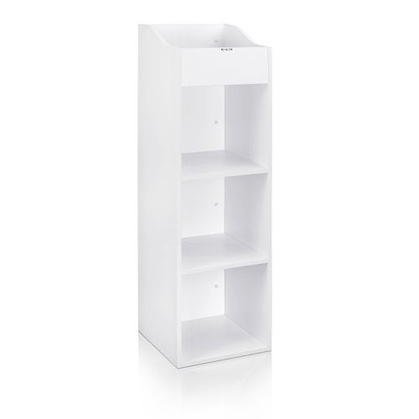 Zomo(ゾモ) / VS-Box 100/4 White (組立式) - 12インチレコード収納BOX - 【約400枚収納可能】